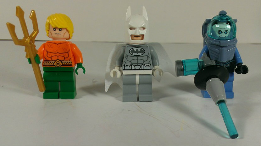 Lego Super Heroes Arctic Batman vs Mr Freeze: Aquaman on Ice! An ...