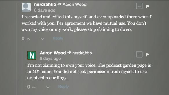 podcastgarden harassment 16